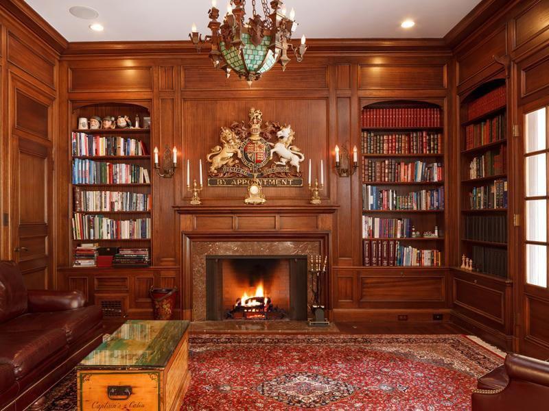 30 Classic Home Library Design Ideas (11)