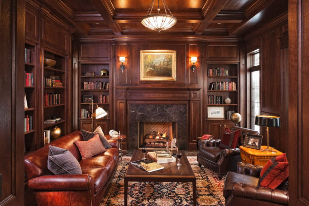 30 Classic Home Library Design Ideas (12)