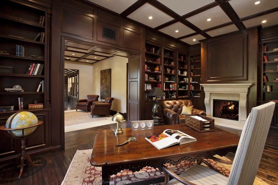 30 Classic Home Library Design Ideas (13)