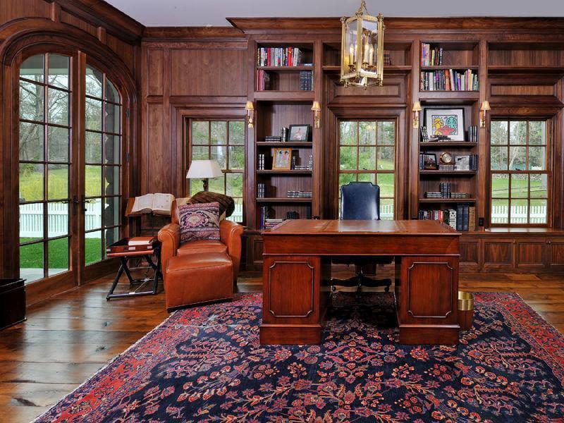 30 Classic Home Library Design Ideas (18)