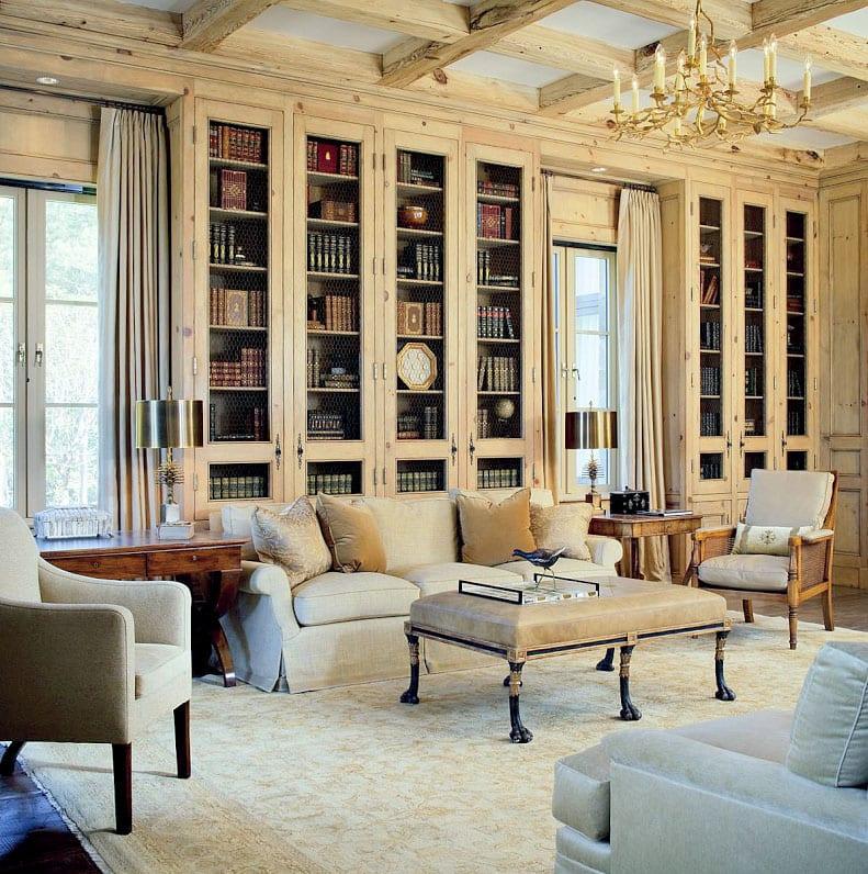 30 Classic Home Library Design Ideas (2)