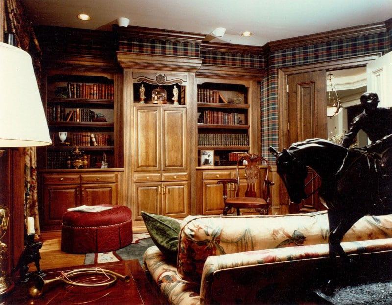30 Classic Home Library Design Ideas (23)