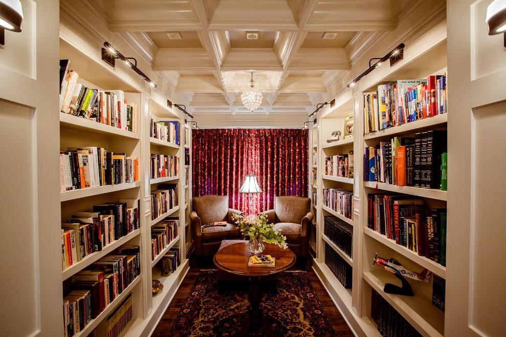 30 Classic Home Library Design Ideas (24)