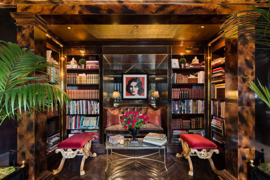 30 Classic Home Library Design Ideas (28)