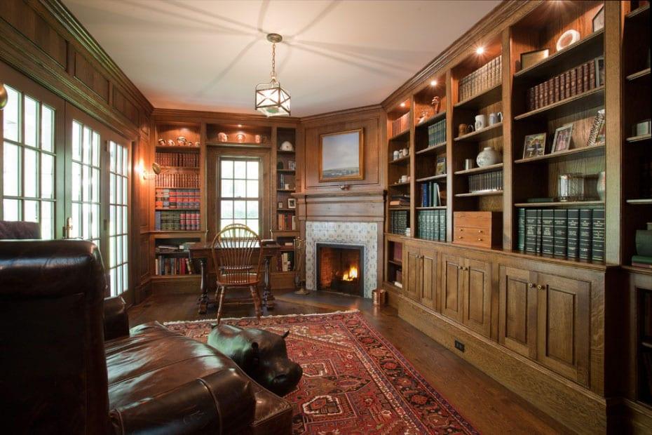 30 Classic Home Library Design Ideas (7)