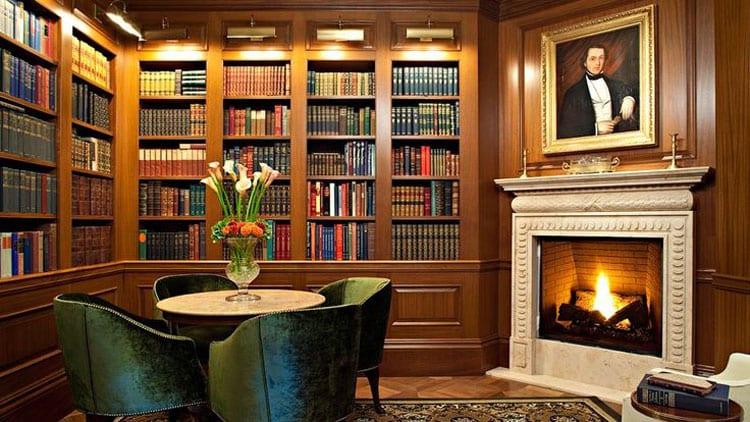 30 Classic Home Library Design Ideas (8)