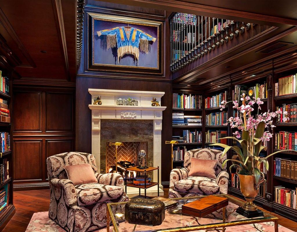 30 Classic Home Library Design Ideas