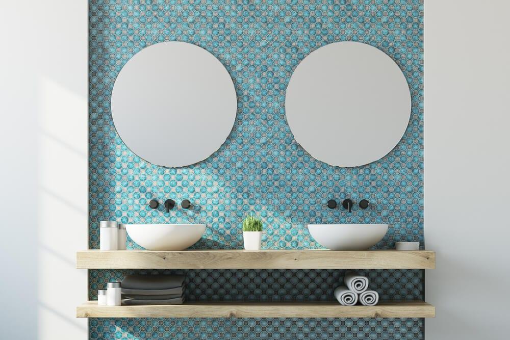 Bathroom Tiled Wall Backsplash