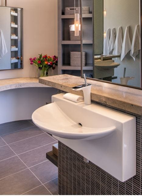 Trends in faucets and sinks