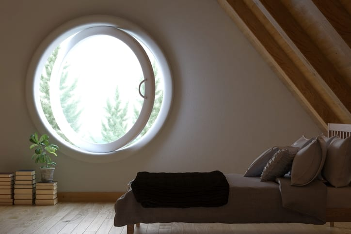 Porthole window light and air