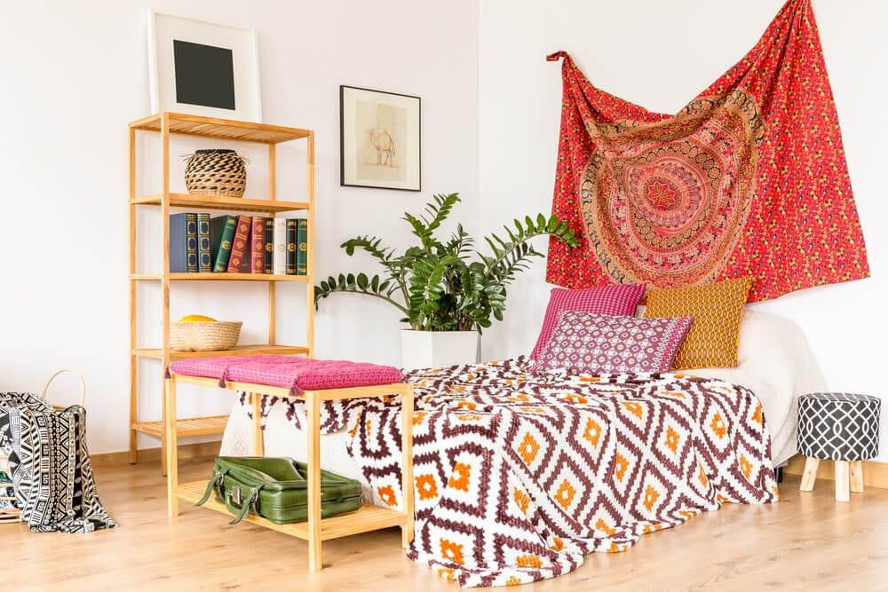 Boho Style Bright Fabrics