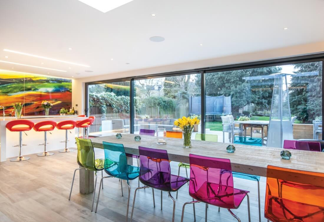 Bold Colors Jelly Chairs