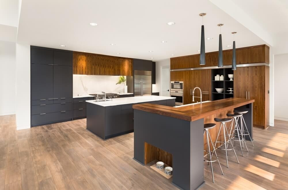 Should You Use Hardwood Floors In Kitchens And Bathrooms?