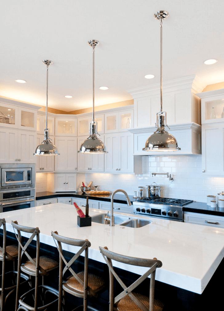 Cabinet uplighting- Widler Architecture