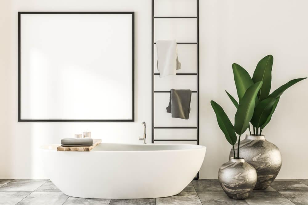 Calm Home Spa Bathroom