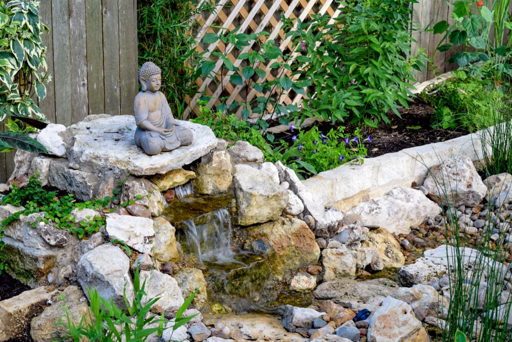 Calm Home Buddha Statue