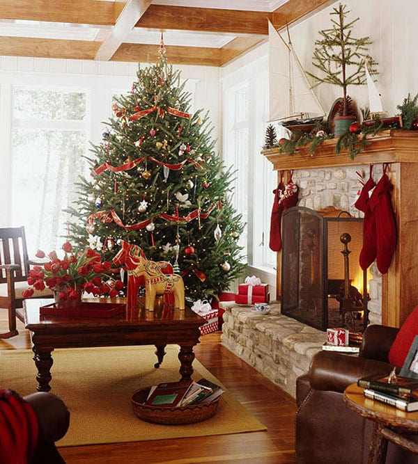 33 Christmas Decorations Ideas Bringing The Christmas Spirit Into Your Living Room