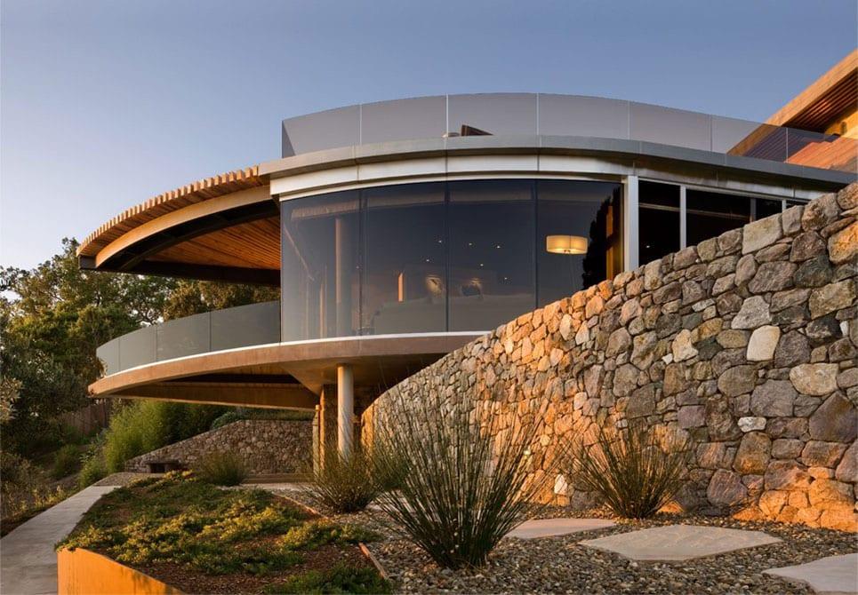 Coastlands-House-Big-Sur-California-Glass-Stone-Walls