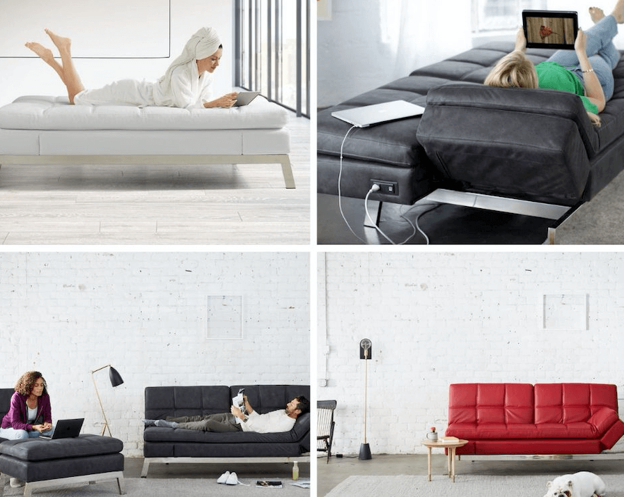 A versatile, luxurious sofa without the luxurious price tag.