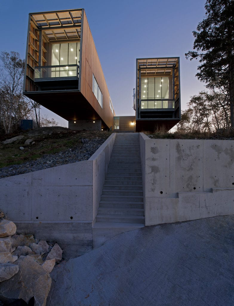 Concrete Stairs Two Hulls