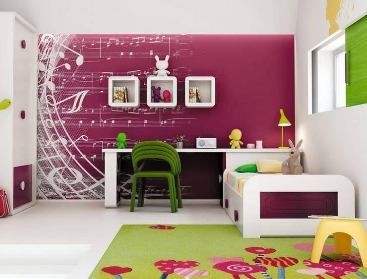 kid's bedroom theme