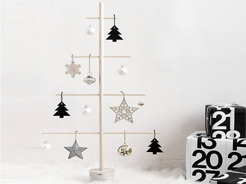 DIY christmas trees - freshome.com