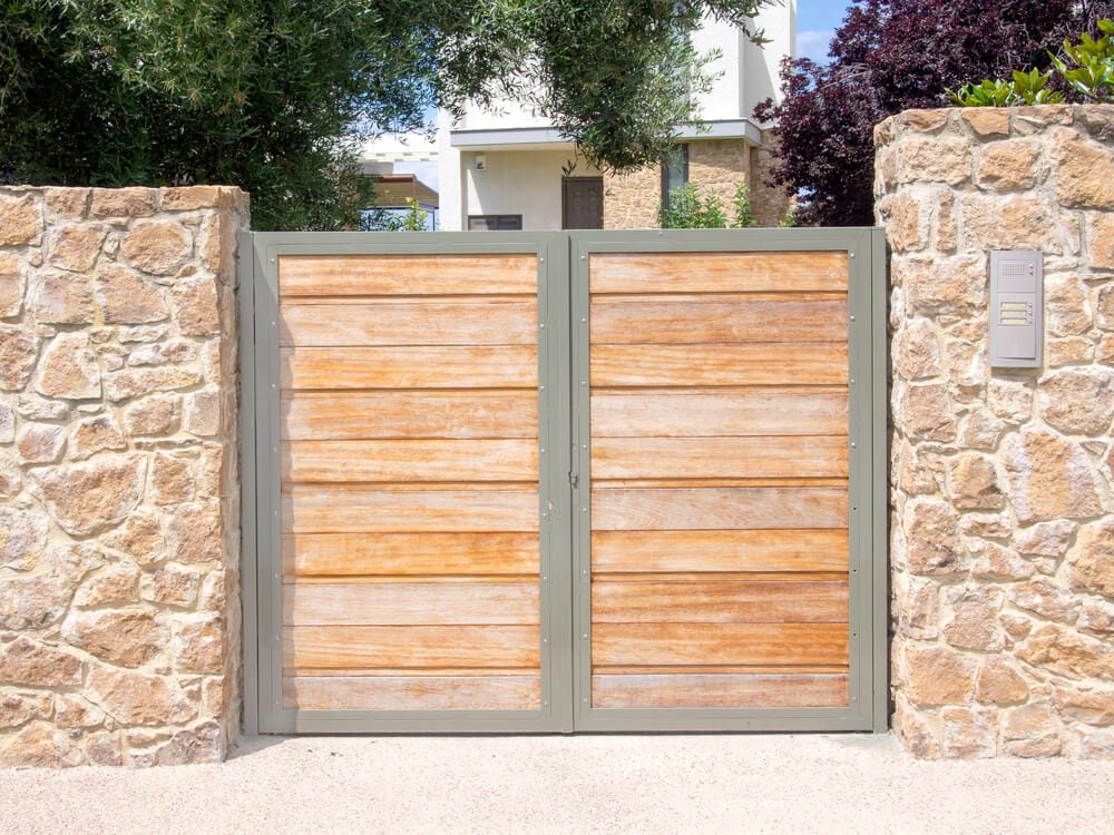 Fencing Materials Wood Gate