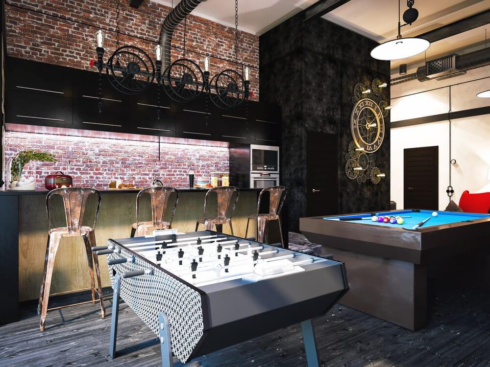 Game Room Home Bar