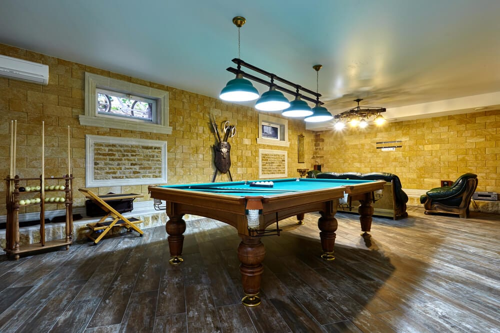 Game Room Focal Point