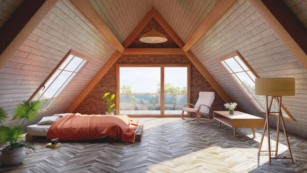 orange attic loft
