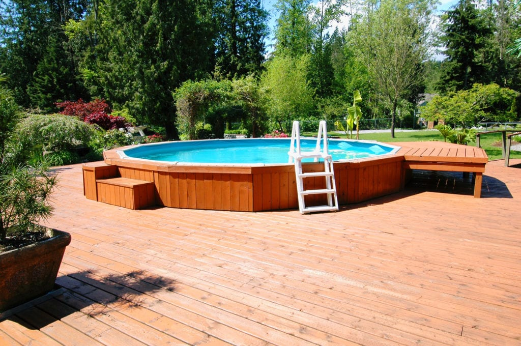 Beauty On A Budget Above Ground Pool Ideas