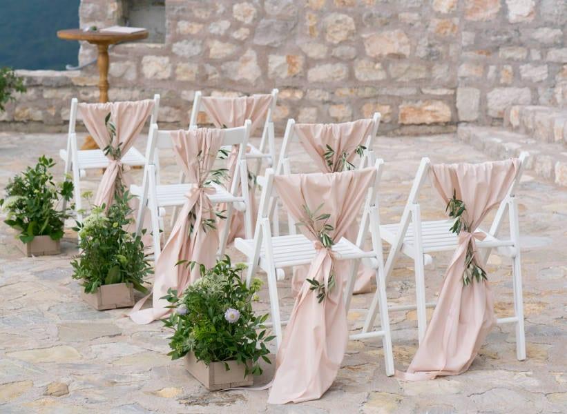 summer wedding decor