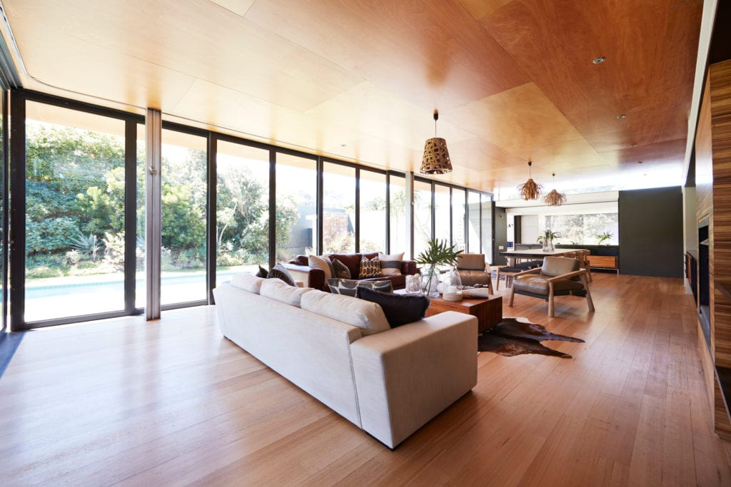 Modern home with spacious open floor plan