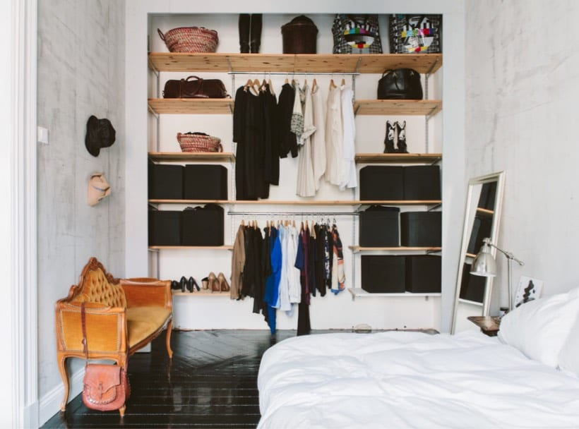 Check Out These 15 No Closet And Tiny Closet Ideas That Work