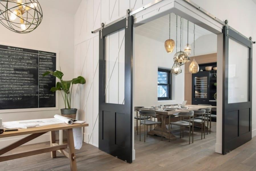Door adds architectural interest