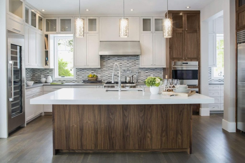 Kitchen styles are changing.