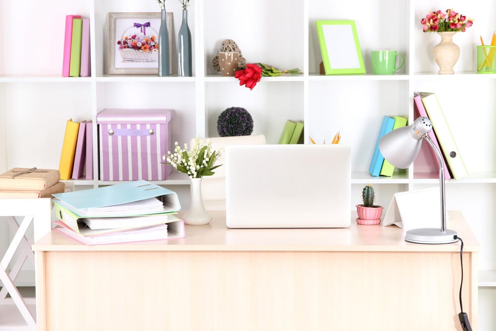Home Office Color Schemes Colorful