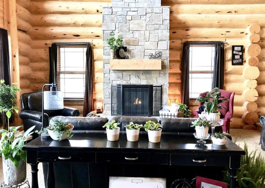 building new home interior