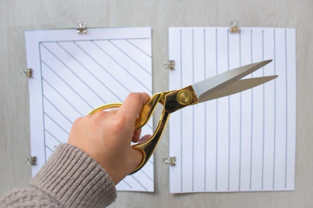 freshome diy wall hanging scissors