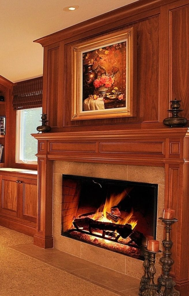 Indoor Fireplaces Redwood Matching