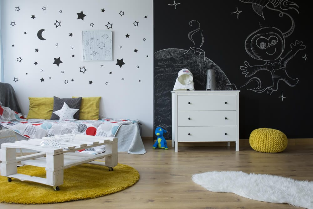 Interior Skyscapes Stars Decals Style