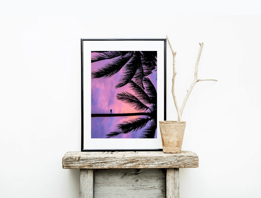 Artwork can add personality to your space