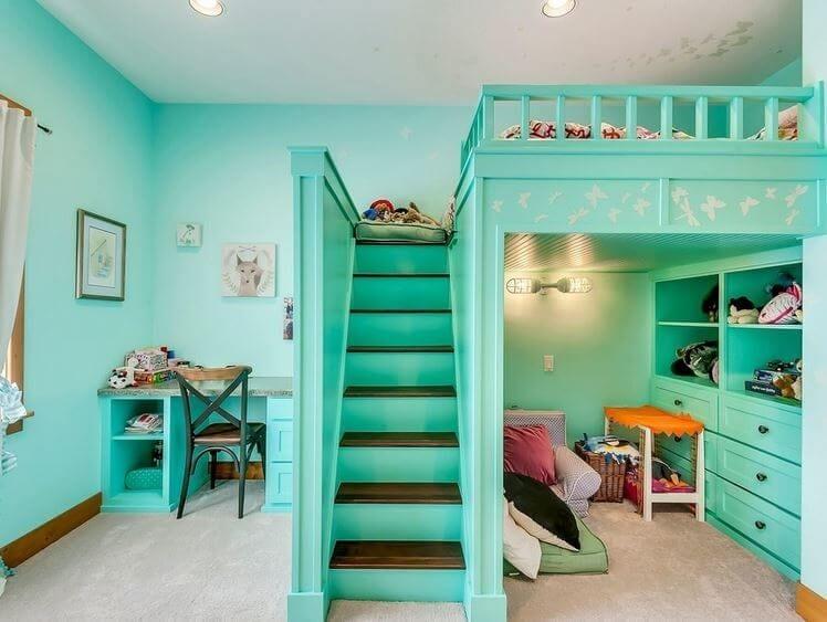 kid's bedroom storage