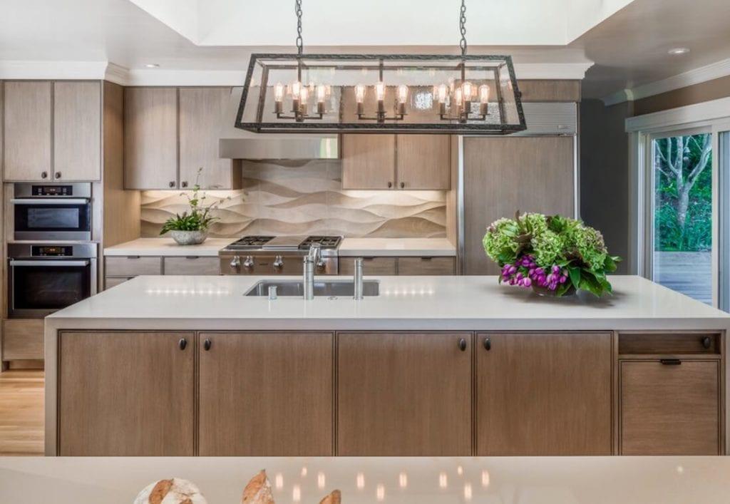 Kitchen Backsplash Contrast 3D Texture