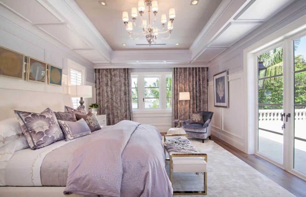 lilac bedroom decorating