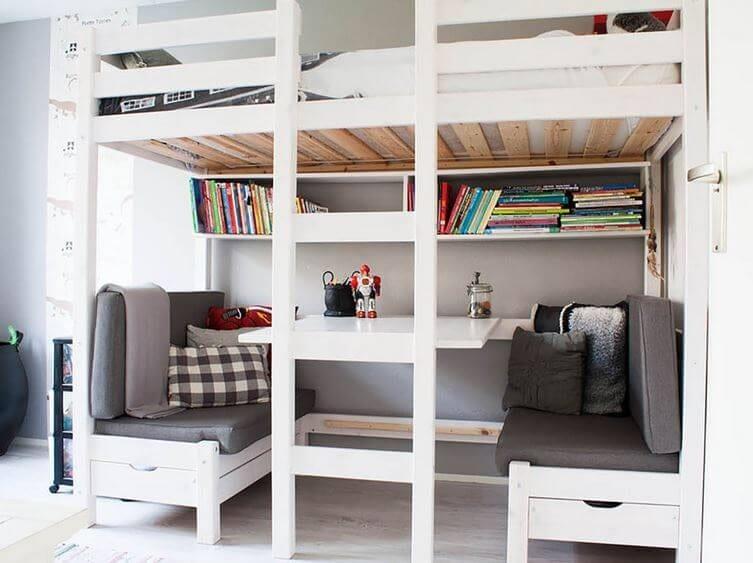 kid's bedroom loft