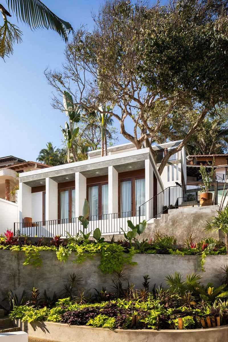 beachfront home