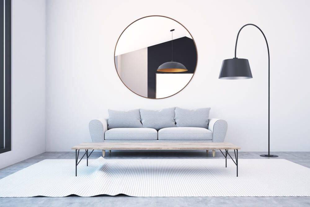 Modernize A Home Mirror Style