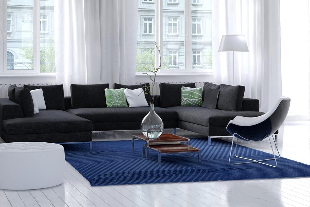 Modernize A Home Black Sofa