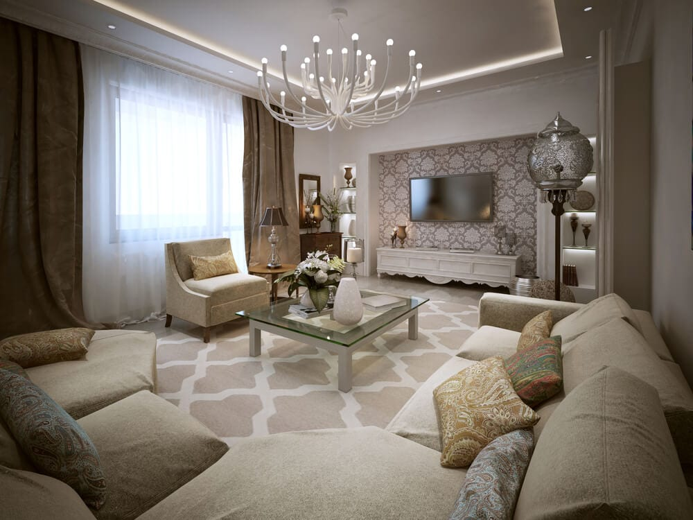 Moroccan Chic Neutral Colors
